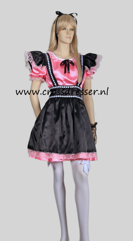Fantasy French Maid Costume, from our Sexy French Maids Collection, Original designs by Crossdresser.nl - photo 1.