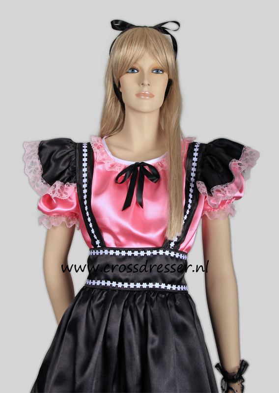 Fantasy French Maid Costume, from our Sexy French Maids Collection, Original designs by Crossdresser.nl - photo 10.