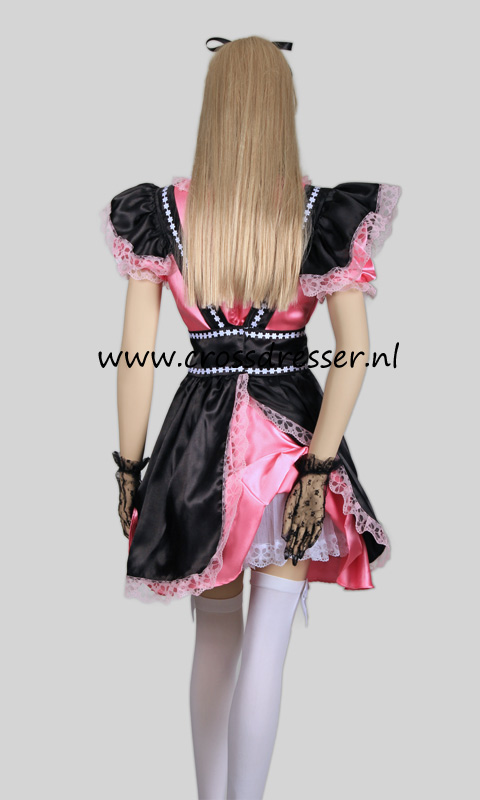 Fantasy French Maid Costume, from our Sexy French Maids Collection, Original designs by Crossdresser.nl - photo 12.