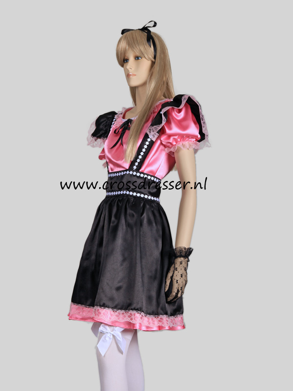 Fantasy French Maid Costume, from our Sexy French Maids Collection, Original designs by Crossdresser.nl - photo 3.
