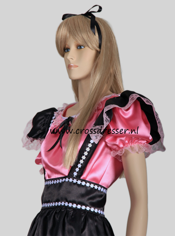 Fantasy French Maid Costume, from our Sexy French Maids Collection, Original designs by Crossdresser.nl - photo 7.