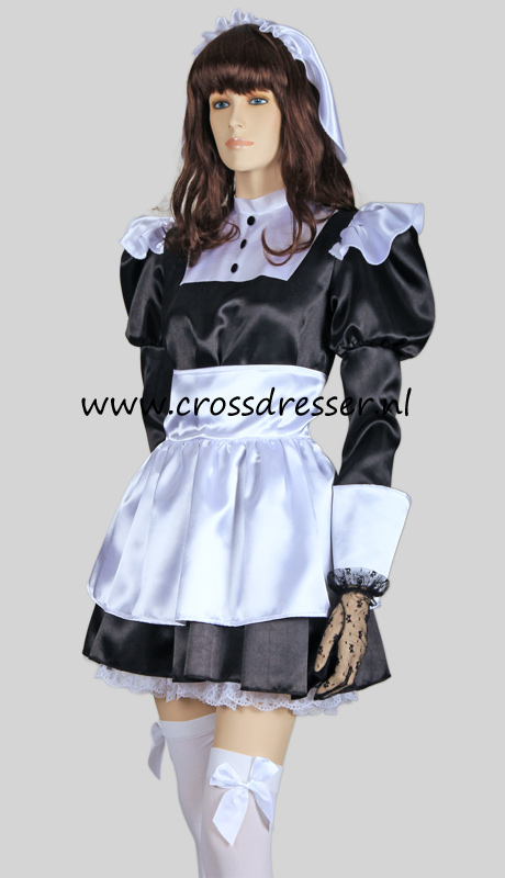 Florence Nightingale French Maid Costume, from our Sexy French Maids Collection, Original designs by Crossdresser.nl - photo 6.