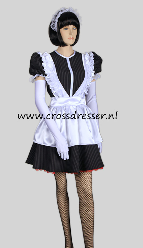 Super Sexy French Maid Costume /  Uniform, from our Sexy French Maids Collection, Original designs by Crossdresser.nl - photo 1.