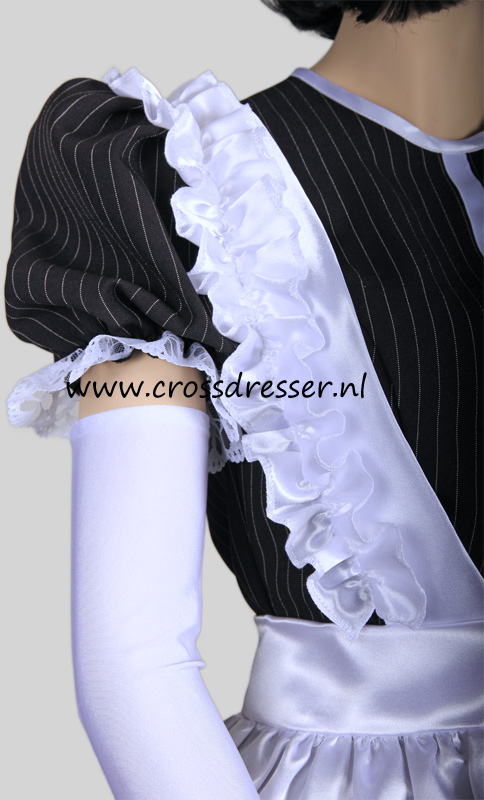 Super Sexy French Maid Costume /  Uniform, from our Sexy French Maids Collection, Original designs by Crossdresser.nl - photo 11.