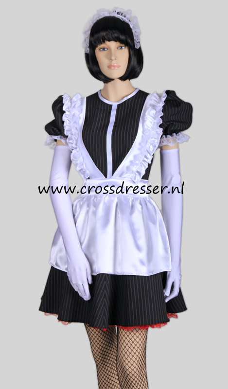 Super Sexy French Maid Costume / Uniform from our Sexy French Maids Collection, Original designs by Crossdresser.nl