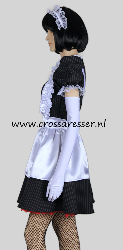 Super Sexy French Maid Costume /  Uniform, from our Sexy French Maids Collection, Original designs by Crossdresser.nl - photo 4.