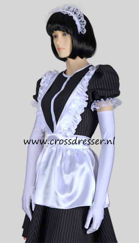 Super Sexy French Maid Costume /  Uniform, from our Sexy French Maids Collection, Original designs by Crossdresser.nl - photo 9.