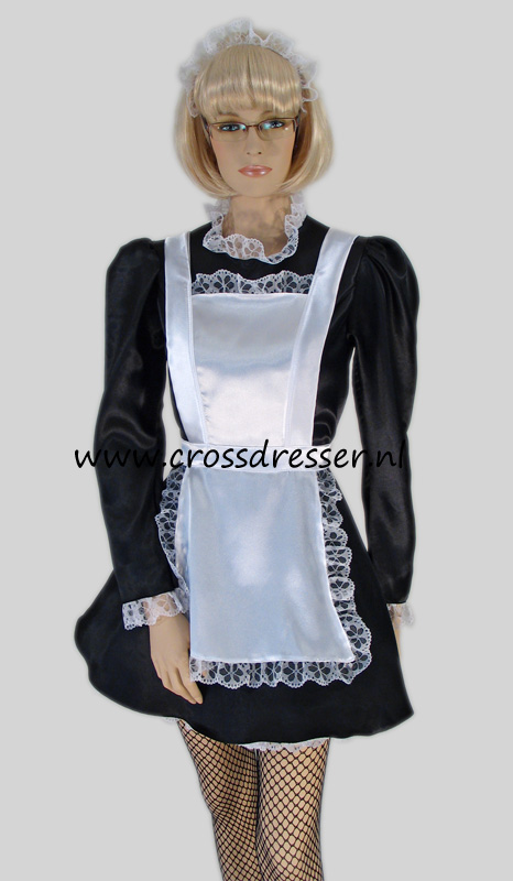 Upstairs Chamber Maid Costume / Uniform from our Sexy French Maids Collection, Original designs by Crossdresser.nl