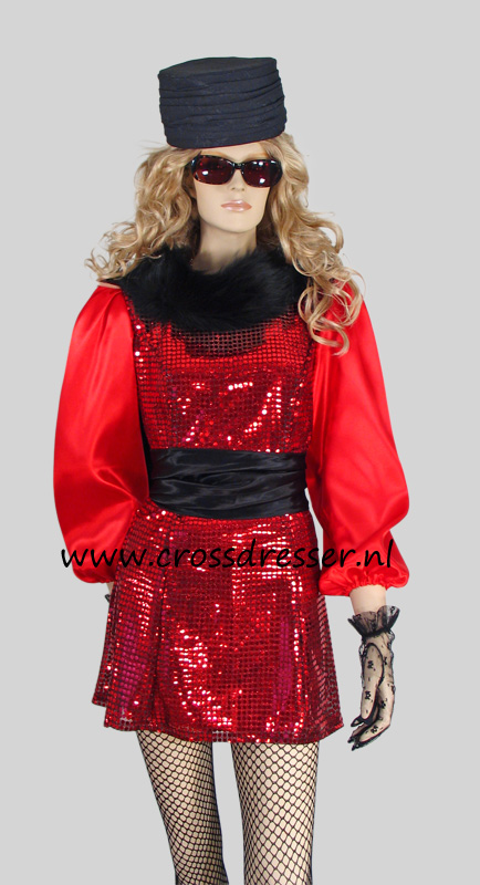uptown girl crossdresser costume