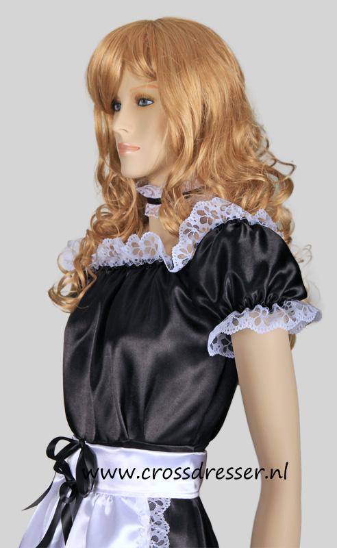 Dream Angel French Maid Uniform Crossdresser Costume