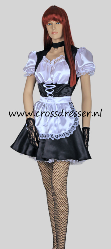 Pleasure Princess French Maid Crossdresser Costume