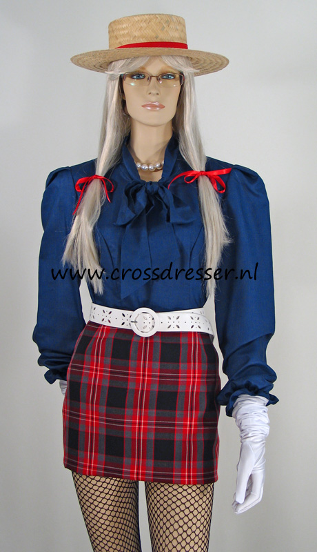 Scottish Schoolgirl Uniform - Sexy School Girls Uniform -9948
