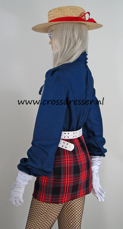 Scottish Schoolgirl Uniform - Sexy School Girls Uniform  Costume By Crossdressernl-5524