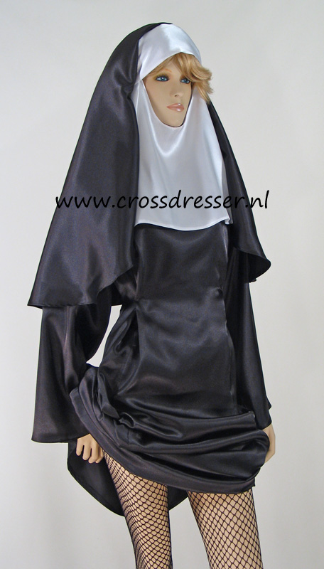 Sexy Sinful Nun Costume, Original High Quality Crossdresser Design by Crossdresser.nl - photo 10.