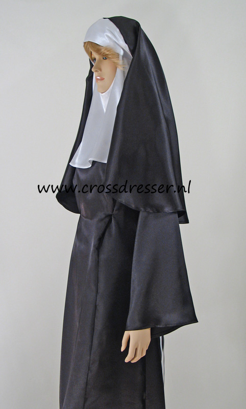 Sexy Sinful Nun Costume, Original High Quality Crossdresser Design by Crossdresser.nl - photo 11.