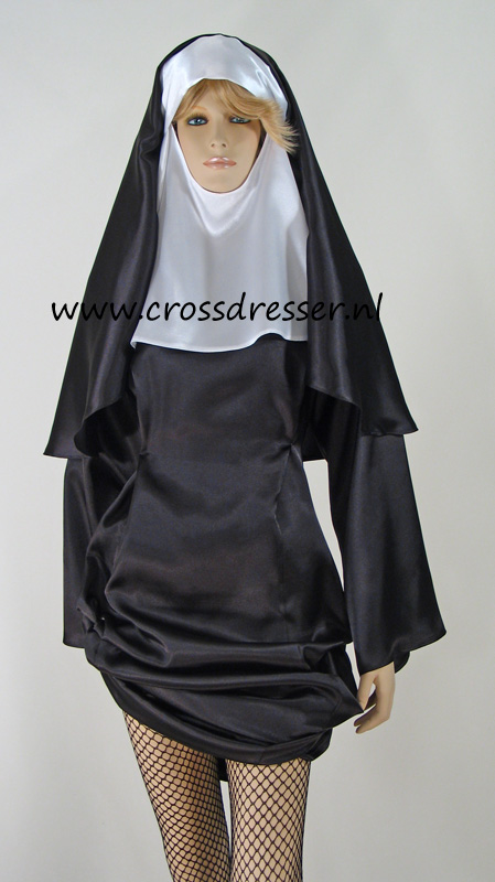 Sexy Sinful Nun Costume, Original High Quality Crossdresser Design by Crossdresser.nl - photo 13.