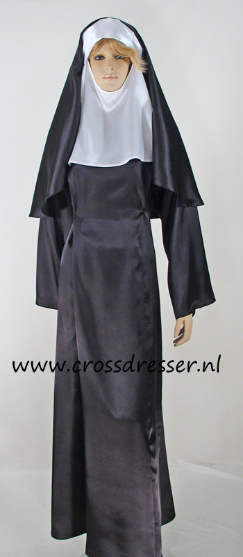 Sexy Sinful Nun Costume, Original High Quality Crossdresser Design by Crossdresser.nl - photo 14.