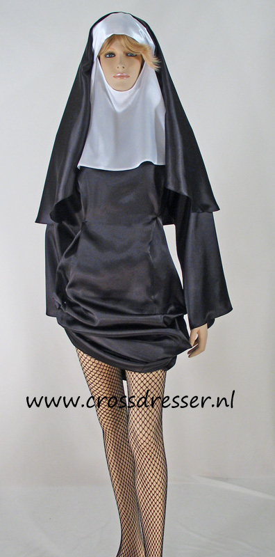 Sexy Sinful Nun Costume, Original High Quality Crossdresser Design by Crossdresser.nl - photo 5.