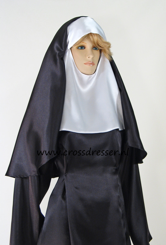 Sexy Sinful Nun Costume, Original High Quality Crossdresser Design by Crossdresser.nl - photo 6.