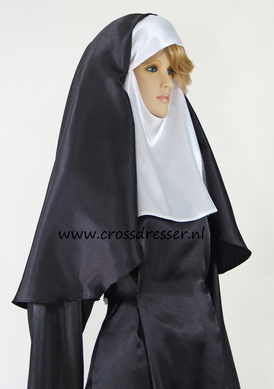 Sexy Sinful Nun Costume, Original High Quality Crossdresser Design by Crossdresser.nl - photo 9.