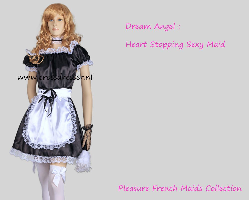 Dream Angel - A Heart Stopping Pleasure French Maid Crossdresser Uniform