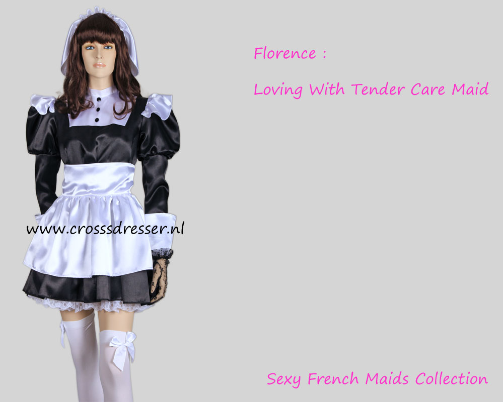 Florence Nightingale A Classic Victorian French Maid Crossdresser Uniform