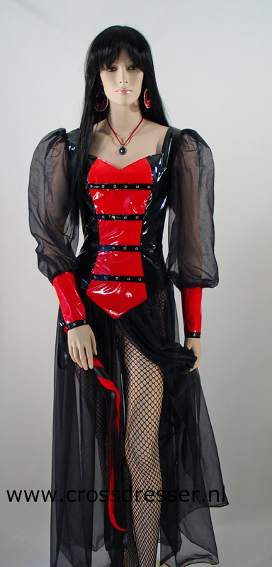 Sensual High Priestess Costume / Uniform from our Mistress and Domina Collection