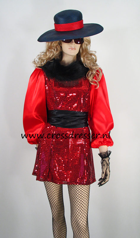 Example Costume: Uptown Girl - An Elegant Type - an original design made by MBG Fashions and available via Crossdresser.nl